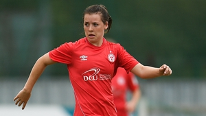 Emily Whelan scored Shelbourne's winning goal against Wexford Youths