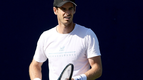 Andy Murray feels his tennis is on the way back up and his body is not letting him down