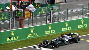 Lewis Hamilton secured his fifth victory of the season