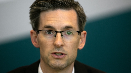 Dr Ronan Glynn said there is now an average of 104 new cases in Dublin each day
