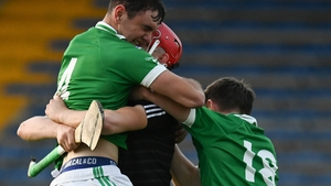 Fintan Purcell, Eoin Collins and John Campion celebrate