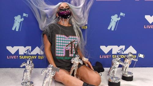 Lady Gaga won the first ever Tricon Award at the VMAs