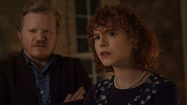 Brilliant work by Jesse Plemons and Jessie Buckley
