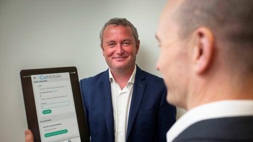 Declan Colfer Managing Director and Ian Glenn Chief Technical Officer Wellington IT