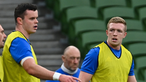 Dan Leavy (r) and James Ryan are close to a return