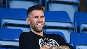 Daryl Murphy attended the Munster derby against Cork earlier this month