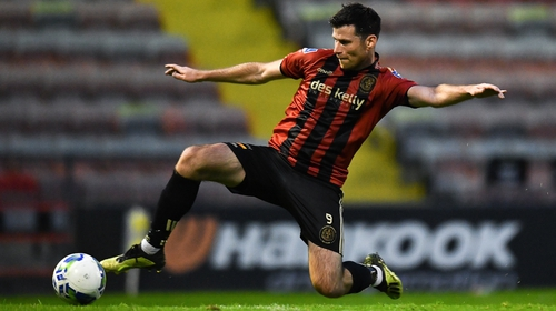 Dinny Corcoran has left Bohemians for United Park