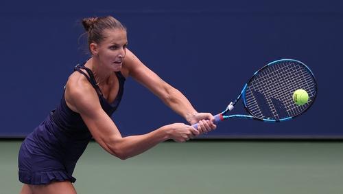 US Open: Top-seed Pliskova eases past Kalinina in opening round