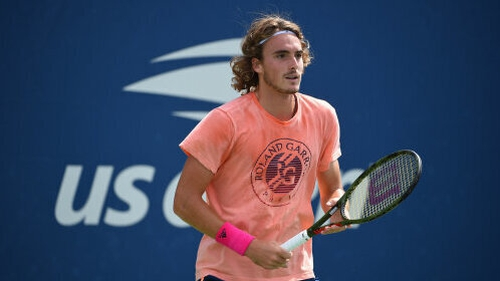 Stefanos Tsitsipas did not get regular access to his towel at Flushing Meadow