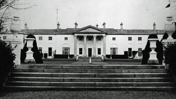 Áras an Uachtaráin in Dublin, the official residence of the President of Ireland