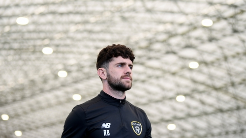 Robbie Brady will no doubt be looking for a starting berth in Sofia