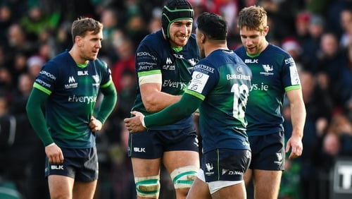 Connacht will face a Tier 1 team from England and France