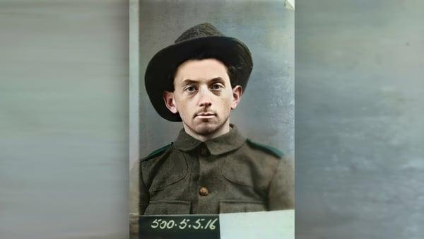 Peadar Clancy. Image courtesy of Kilmainham Gaol Museum/)PW 17PO-1A22-20