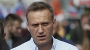 Alexei Navalny fell violently ill on a flight over Siberia in August (file image)