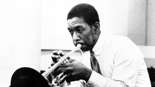 The American trumpeter Kenny Dorham pictured circa 1970: additional articulateness and a surer voice already in evidence in 1964