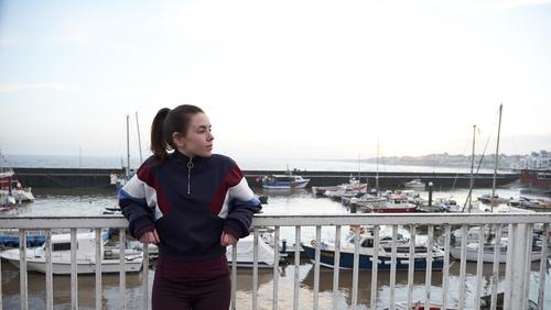 Irish actress Lauren Coe plays the beleagured young teenager Laurie in Nocturnal