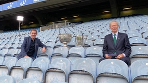 Ryan Tubridy and Mícheál Ó Muircheartaigh