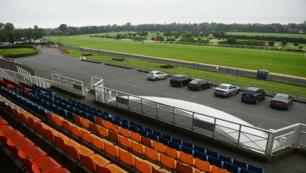 Racing has been continuing behind closed doors