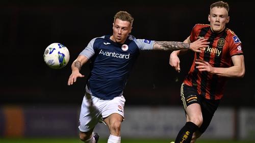 Bohemians beat Sligo Rovers 2-0 back in March