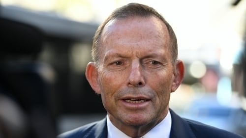 """Tony Abbott has previously said that he feels """"a bit threatened"""" by homosexuality"""