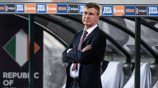 Stephen Kenny took charge of his first Ireland game in Sofia