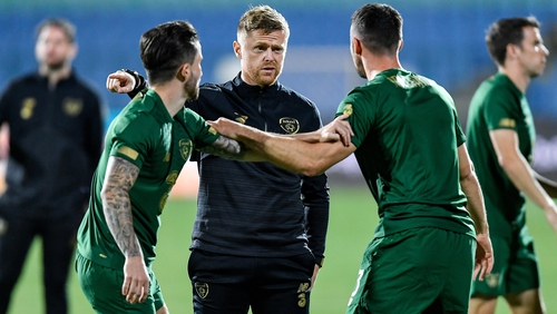 Damien Duff will not be involved for Ireland's World Cup qualifying campaign