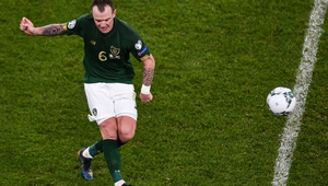 Glenn Whelan is currently on 91 caps for the Republic of Ireland