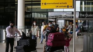London's Heathrow Airport - England has different quarantine rules to Scotland and Wales