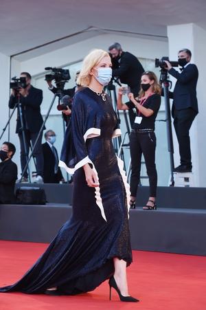 Cate Blanchett in Esteban Cortazar. Photo: Getty