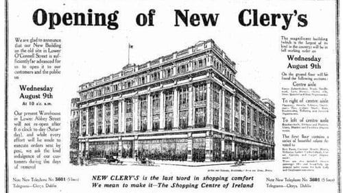Rediscovering the glamour of Dublin's lost department stores