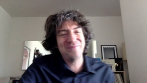 Gary Lightbody - in LA and not Laois