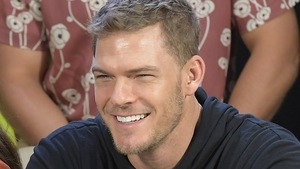 """Alan Ritchson - """"I guess my joke about not fitting in bathtubs a couple weeks ago really killed"""""""