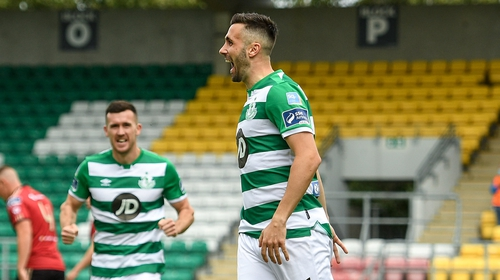 Rovers struck early to secure the result as Lafferty got himself on the scoresheet