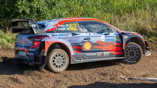 Breen claimed two stages on Saturday