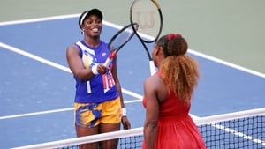 Williams (r)will face Greek 15th seed MariaSakkari in the next round