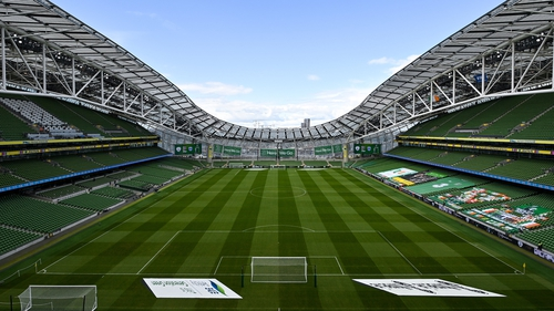 The running of the Aviva Stadium is a bone of contention for Dundalk chairman Bill Hulsizer