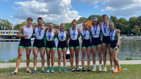 The Ireland team which secured fiver medals this weekend