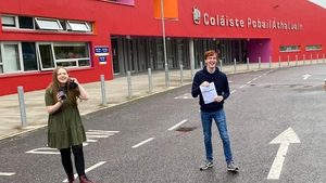 Students from Athlone Community College celebrate their results