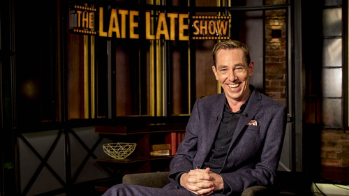 "Ryan Tubridy - Promising ""a very positive"" Late Late Show on Friday night"