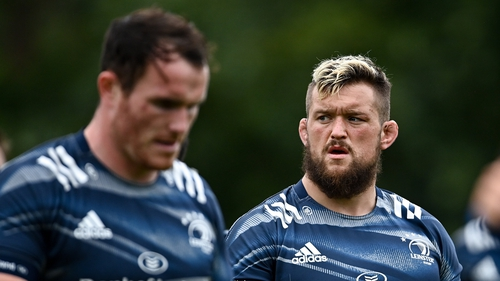 Andrew Porter (right) has been ruled out of the Lions tour