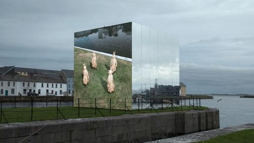 Mirror Pavilion - John Gerrard's artwork is a centrepiece of this year's Galway International Arts Festival: Autumn Edition