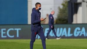 Mason Greenwood had to leave the England squad