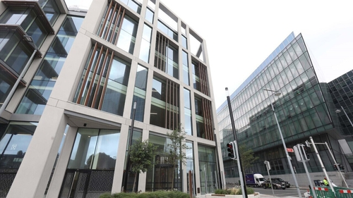 Google had entered into talks to rent the 'Sorting Office' near Dublin's south quays