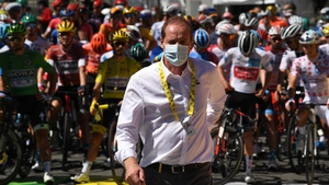 Tour de France director Christian Prudhomme is one of the individuals to test positive for coronavirus