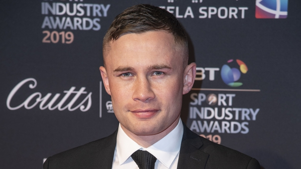 Carl Frampton is suing Barry McGuigan for alleged withheld earnings (file pic)