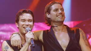 "Stephen Gately and Keith Duffy (pictured onstage at London's 02 Arena in May 2008) - ""They've put in place somewhere where his name will be remembered forever"""