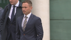 Carl Frampton outside court in Belfast
