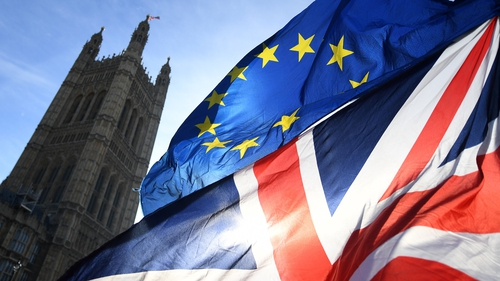 The 'goods at risk' issue has proven highly sensitive in talks between the EU and the UK
