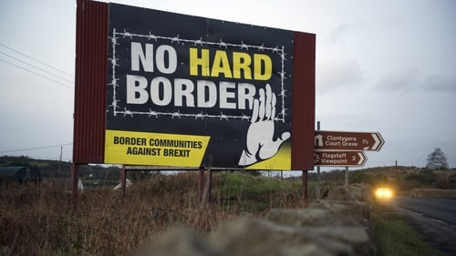 The Border Communities Against Brexit group said it would be erecting a new series of billboards along major roads