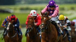Thunder Beauty won on her racecourse debut at the Curragh last month
